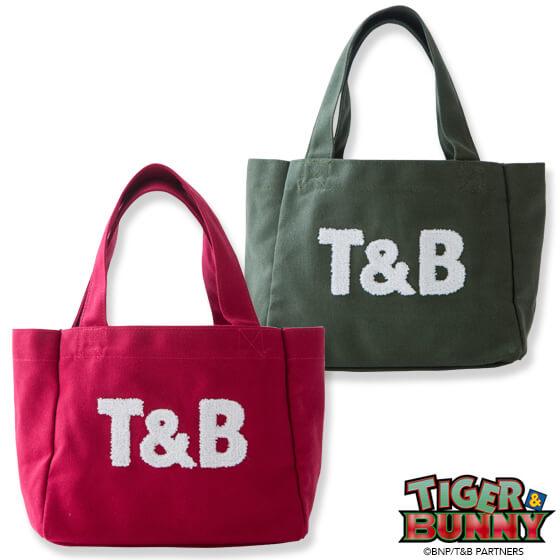 TIGER & BUNNY×kitson コラボトートバッグ(小) 『T&B』