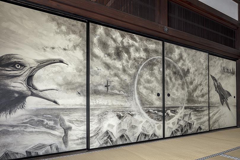 真珠庵 襖絵修復プロジェクト「作家トークショー」