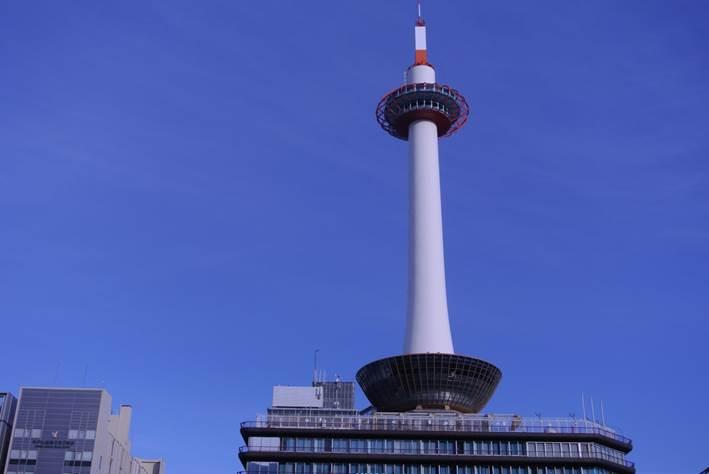 京都タワー実物