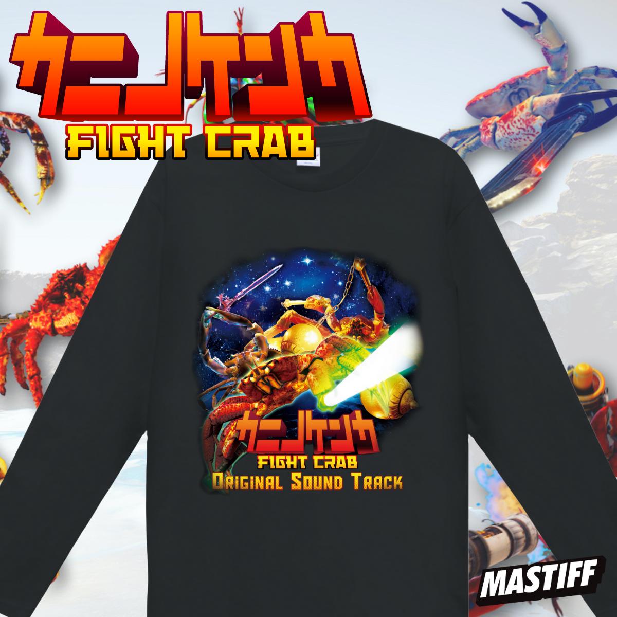「カニノケンカ -Fight Crab-」サウンドトラックTシャツ(長袖)